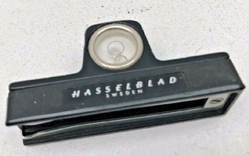 Hasselblad spirit level for fitting on the camera side rail